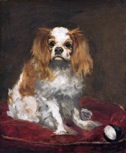 manet A King Charles Spaniel