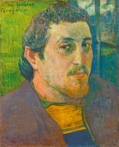 gauguin Self Portrait Dedicated to Carrière