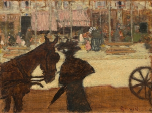 bonnard the cab horse