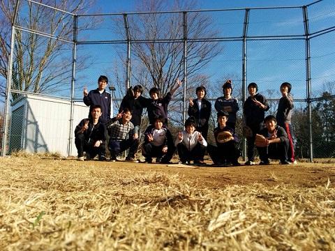ソフトボール 集合写真