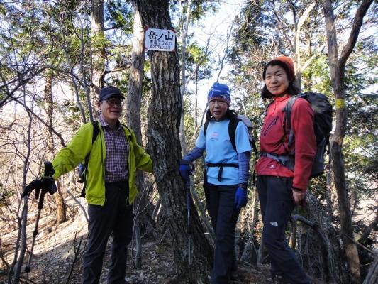10岳ノ山の山頂