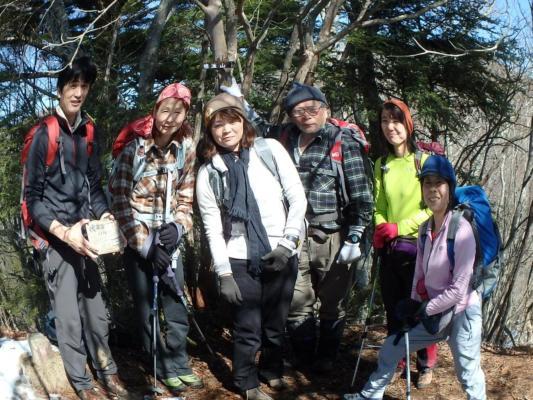 05徳並山の山頂