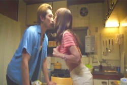 7ヘイサクにキスしようとする文緒