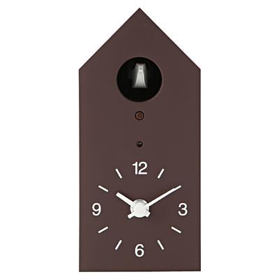 無印 鳩時計(ブラウン)