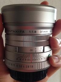 FA31mm F1.8 AL Limited