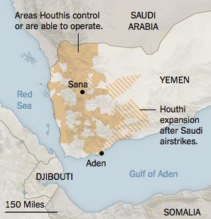 イエメン情勢サウジ空爆2週間