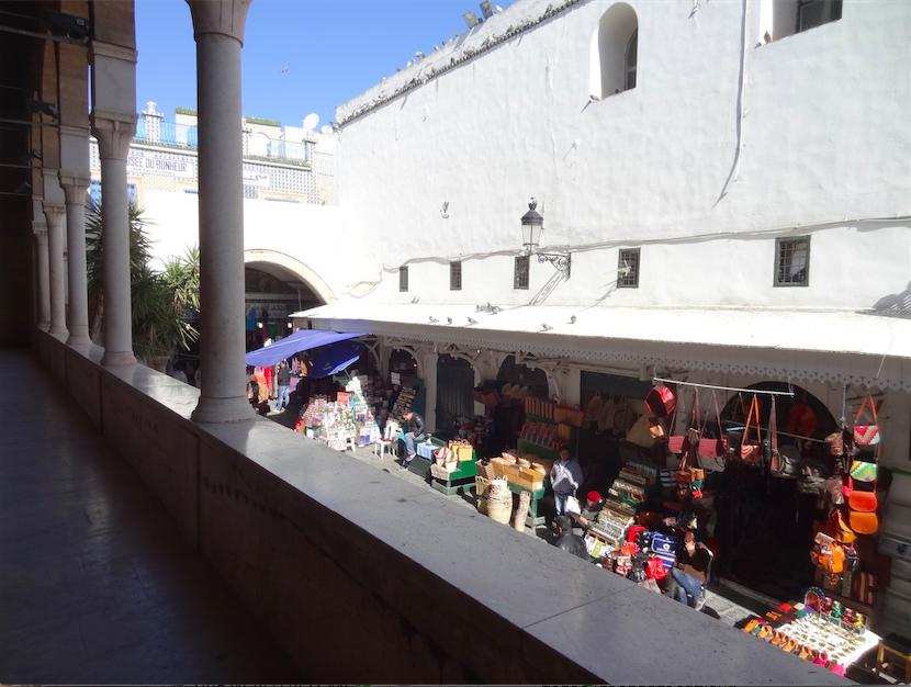 チュニジア・ザイトゥーナ・モスクから見下ろす
