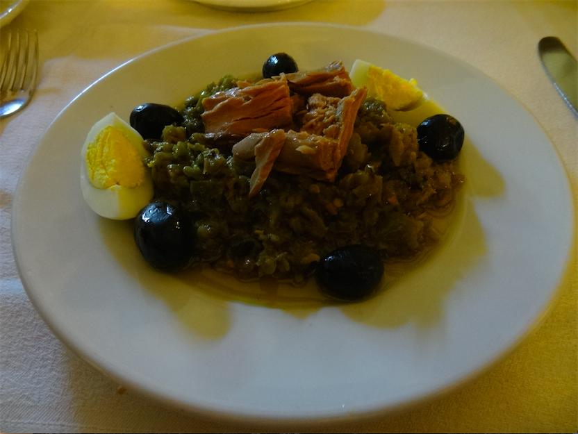 チュニジア食焼きサラダ