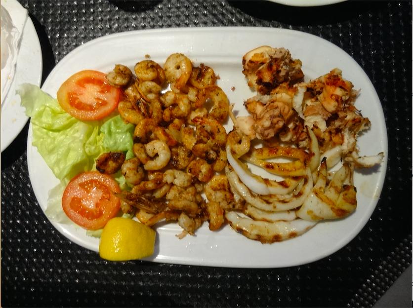 チュニジア食魚グリル