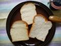 ミニ食パンカット