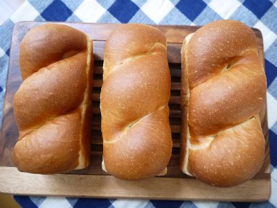 ミニ食パン3種類