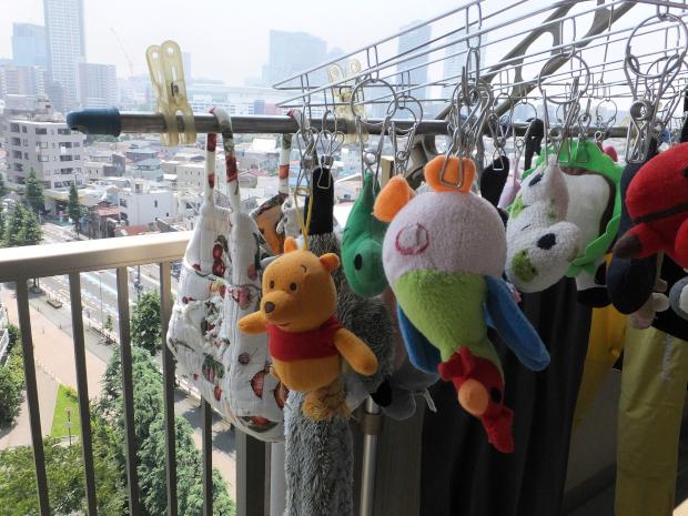 ②おもちゃの洗濯