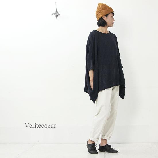 Veritecoeur (ヴェリテクール) スクエアチュニックショート