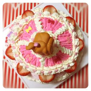 アイカツキラメキドレスケーキ2
