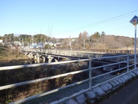 029舗装区間の終点、花島橋