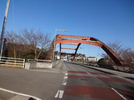 031花見川CR終点、弁天橋