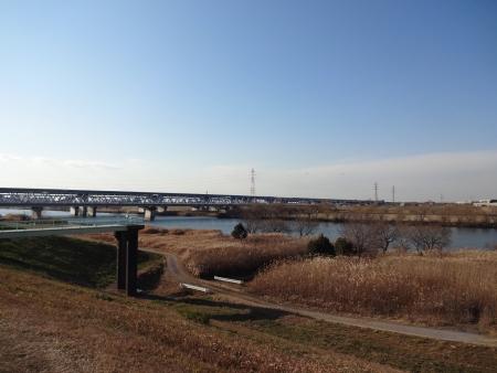 080葛飾橋、外環繋がる