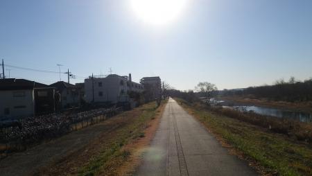 008羽村から多摩川CRにイン