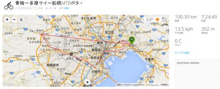 027走行実績100_39km