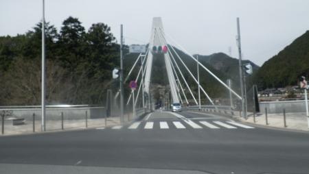 022梅沢橋を通過
