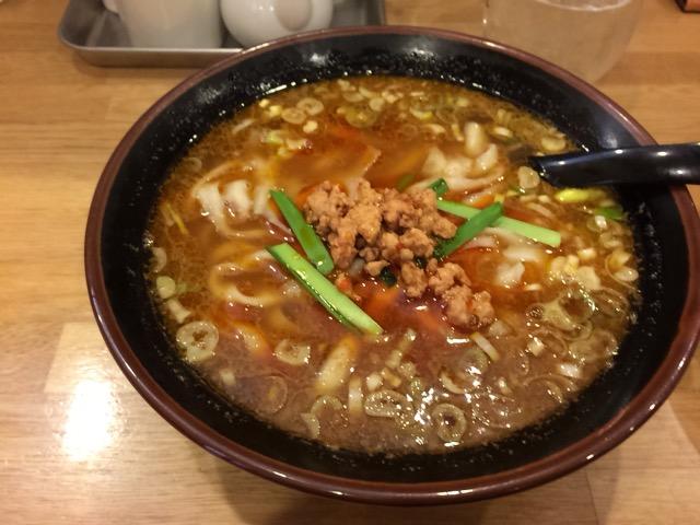山西刀削麺 マーラーメン