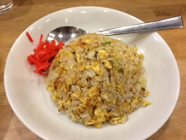 山西刀削麺 ミニチャーハン