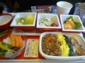 P1050107成田シカゴ便の機内食