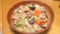 とりと野菜の蒸し煮 20121225
