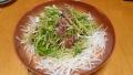 ぶりの大根サラダ 20141228