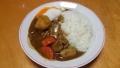 牛すじ根菜カレー 20150122