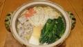 とり野菜味噌鍋 20150304