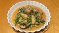 茄子と小松菜の味噌炒め 20150414