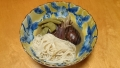 茄子とつる豆の味噌煮 20150601