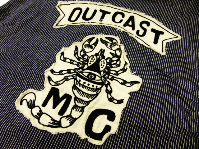 GANGSTERVILLE OUTCAST MC VEST