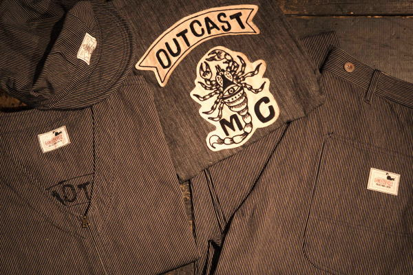 GANGSTERVILLE OUTCAST MC VEST OUTCAST PAINTER