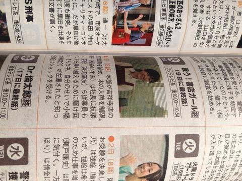渡辺麻友主演 戦う!書店ガールが低視聴率のため6月9日の第9話で打ち切り決定!(当初の予定は全11話)