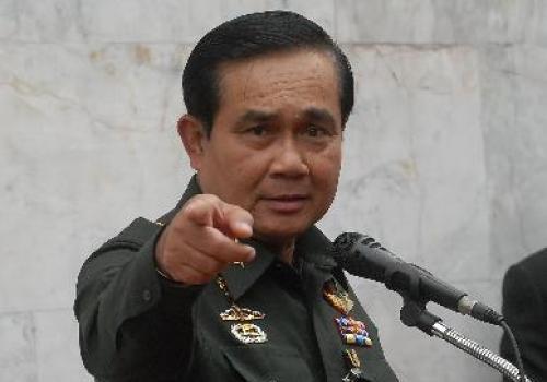 タイ軍事政権のプラユット・チャンオチャ暫定首相