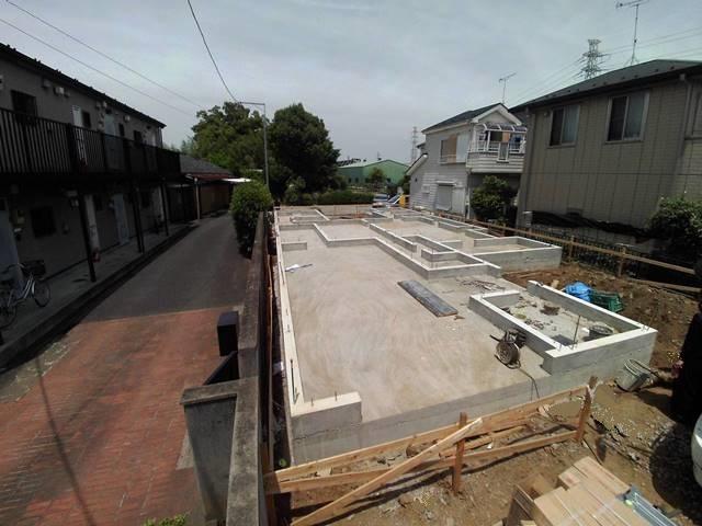 埼玉県さいたま市岩槻の注文住宅・基礎工事完了