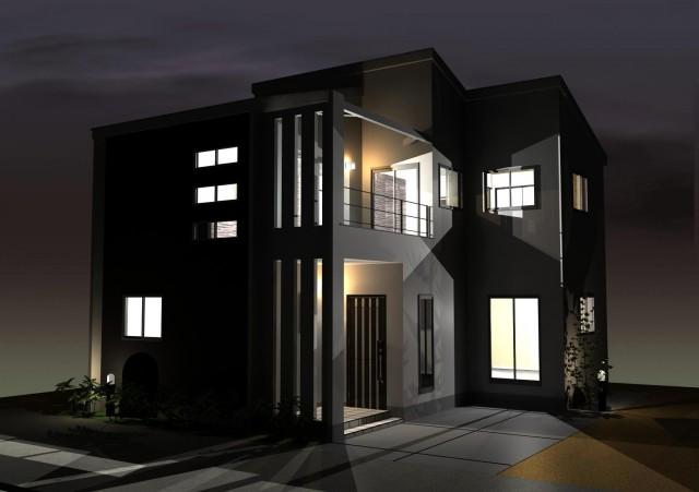 デザインファーストのシンプルモダン注文住宅