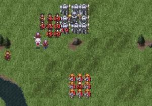 並みのキャラがメテオ降らせれば、傭兵は即死する。