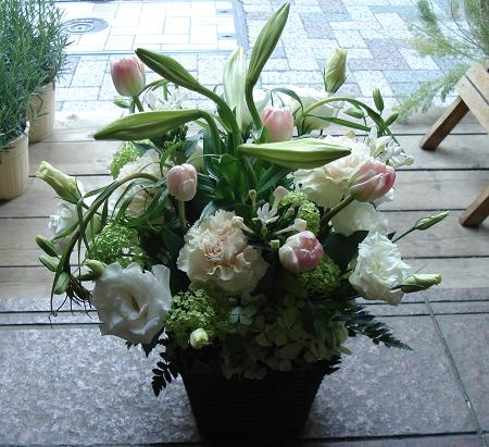 Kのお父様 お悔やみのお花