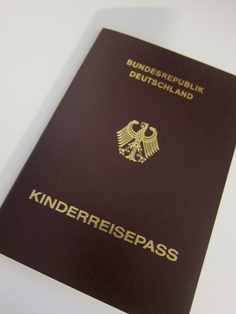 ドイツKinderreisepass