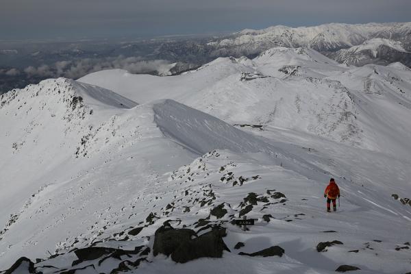 乗鞍頂上からの景色