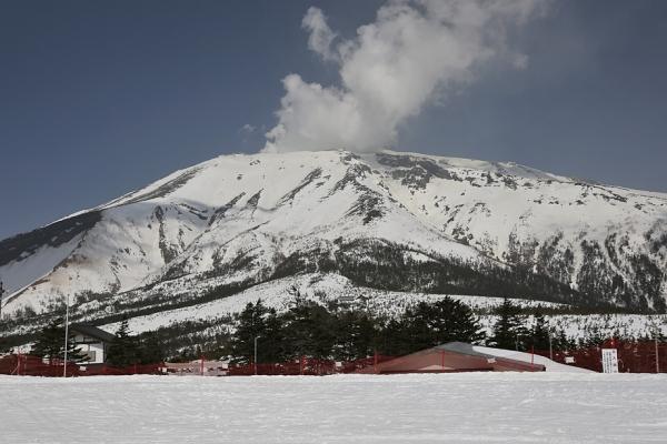 久しぶりに田の原から御嶽を見た
