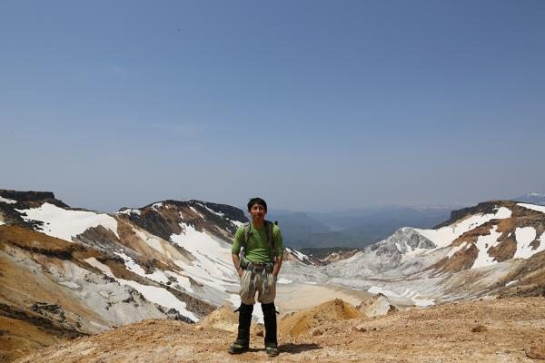 安達太良 火山地形を楽しむ