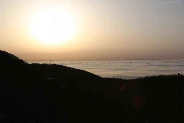 那須岳 雲海の朝