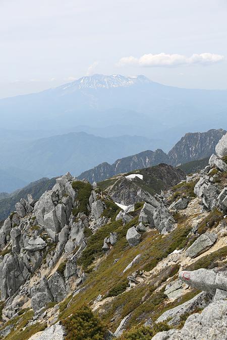 花崗岩と御嶽