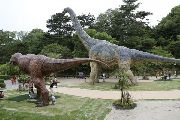 岡崎市 東公園 恐竜