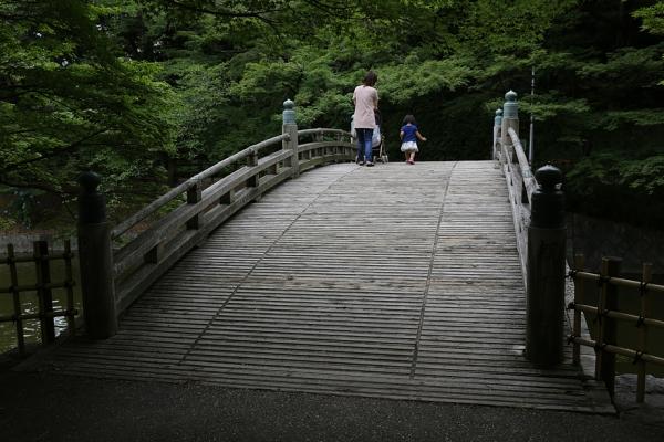 岡崎市 東公園 雰囲気のある橋