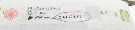ほぼ日手帳2015 1日1ページ(上部)